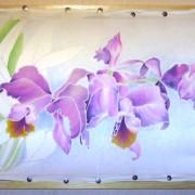 батик орхидеи