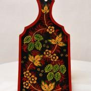 доска хохломская роспись