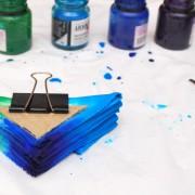 Фотографии мастер-класса по узелковому батику от Надежды Осадченко, art-workshop, батик, шибори, shibori, batic, batik, наволочка,