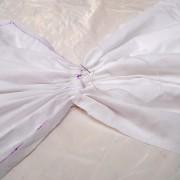Стягивание шва на талии ля окраски
