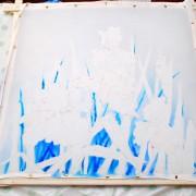 добавление оттенков синего