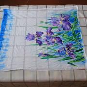 закрепление акриловых красок для батика на ткани