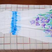 Складываем детали спинки платья вместе