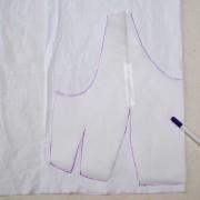 перенос выкройки на ткань