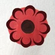 Малый розан, тенёвка, Малый розан в городецкой росписи