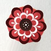 Малый розан, разживка , Малый розан в городецкой росписи