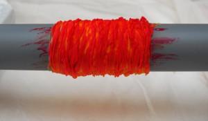 акриловые краски для батика, батик на трубе, Осадченко Надежда, араши, шелковая ткань, шарф , туаль, батик
